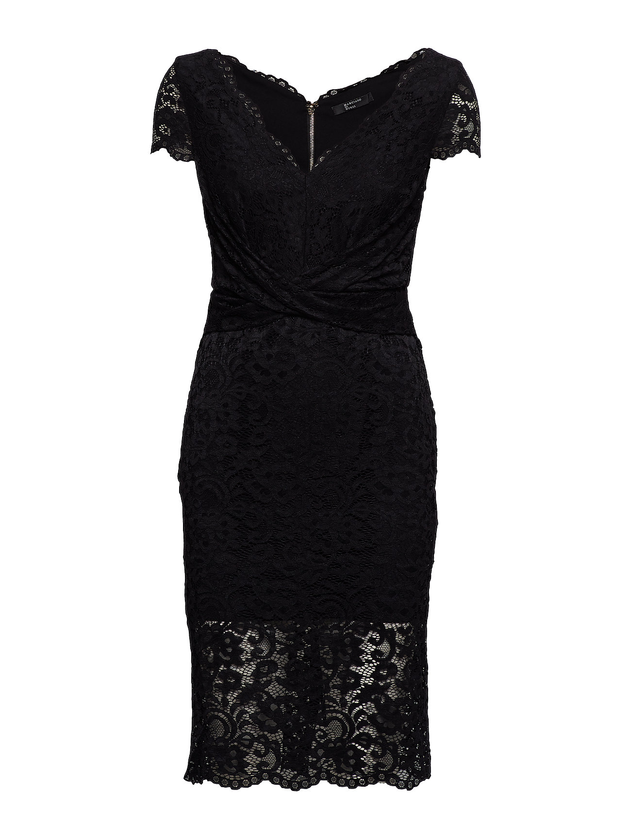 Marciano by GUESS CLAUDIA LACE DRESS - JET BLACK A996