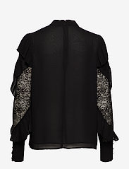 Marciano by GUESS - FELL IN LOVE BLOUSE - langärmlige blusen - jet black a996 - 1