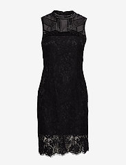 Marciano by GUESS - CRIMSON LACE EMB. DRESS - spitzenkleider - noir de jais - 0