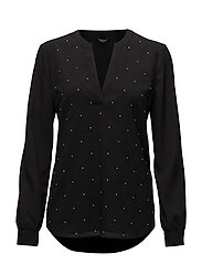 SPOTLIGHT BLOUSE - JET BLACK
