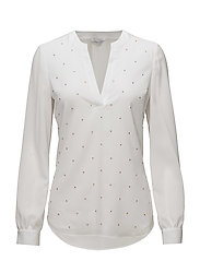 SPOTLIGHT BLOUSE - TRUE WHITE