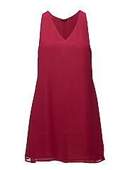APE DRESS - BRIGHT RASPBERRY