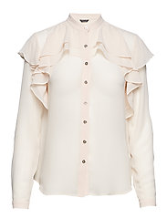 ALLURA BLOUSE - COCOA CREAM