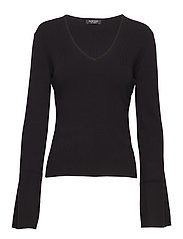 MIALEN SWEATER TOP - JET BLACK A996