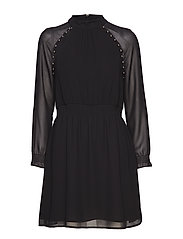 ARIYA DRESS - JET BLACK A996