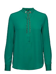 TAYLOR WEAVED CHAIN TOP - ROYAL JADE A821