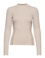 TIFFANI SWEATER TOP - SERENE CREAM