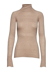 CABIRIA SWEATER TOP - WARM BEIGE