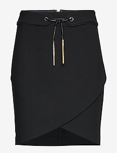 LARA SKIRT - ołówkowe spódnice - jet black a996