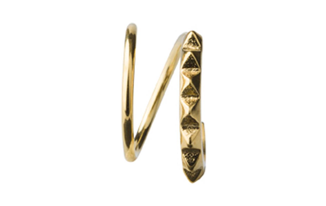 Maria Black Klaxon Twirl Earring - GOLD HP
