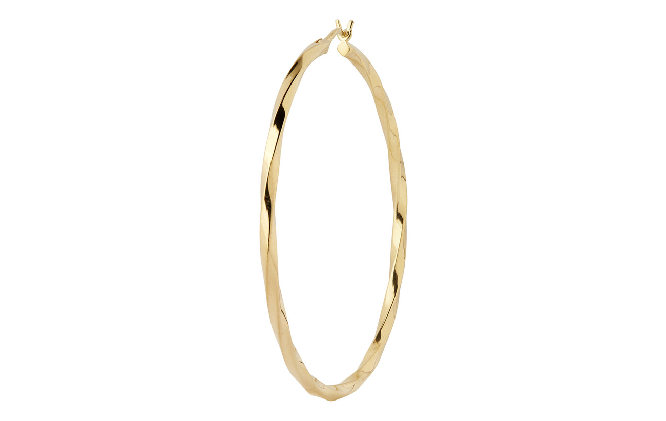 Maria Black Francisca Hoop Large Earring - GOLD HP