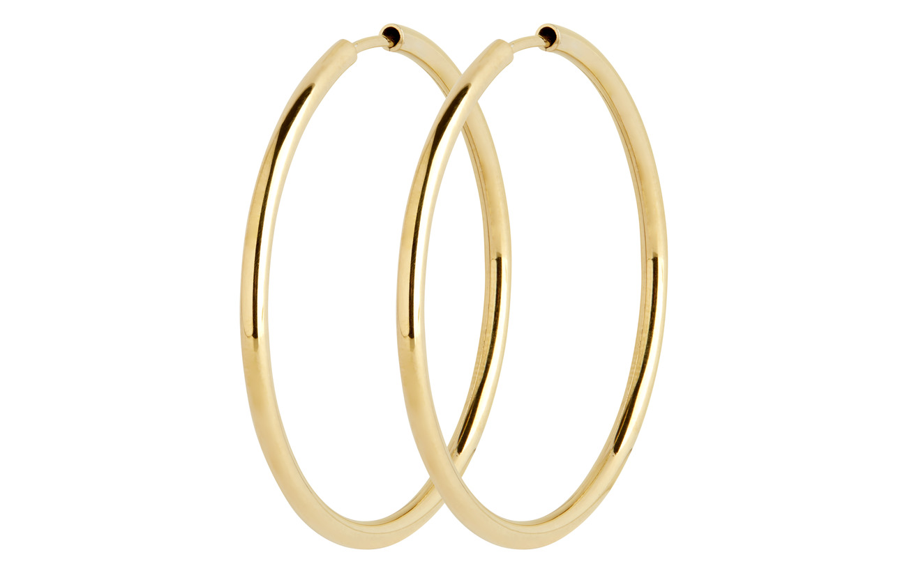 Maria Black Sunset Hoop 35 *PAIR - GOLD HP