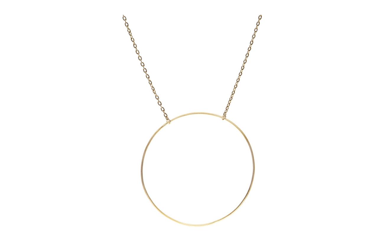 Maria Black Monocle Necklace - 40/45 cm - GOLD HP