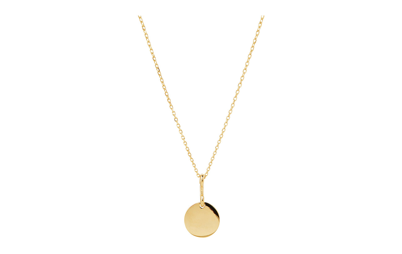 Maria Black Bell Necklace 45 cm - GOLD HP
