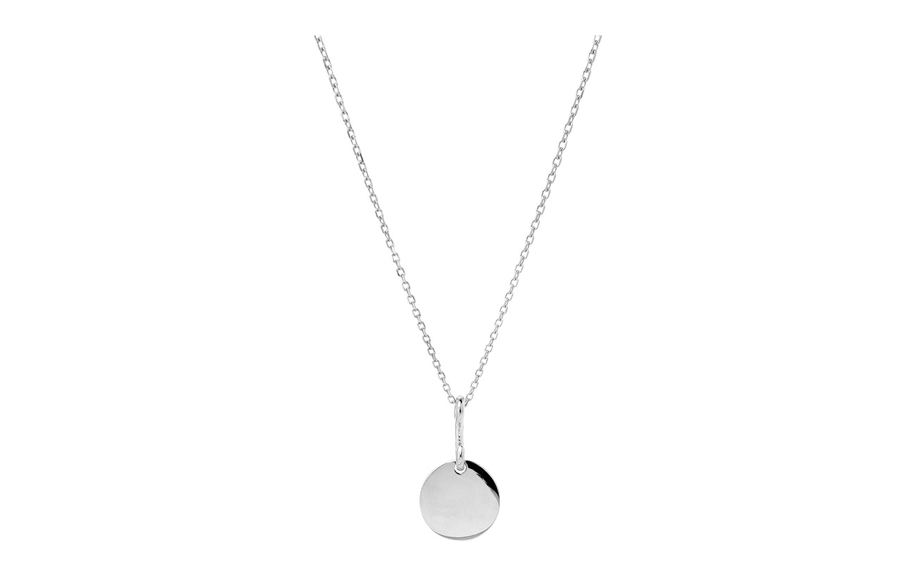 Maria Black Bell Necklace 45 cm - SILVER HP