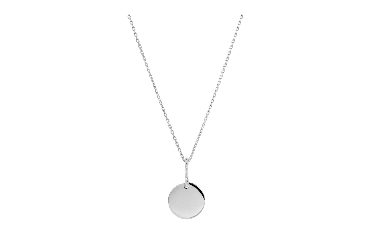 Maria Black Bell Necklace - SILVER