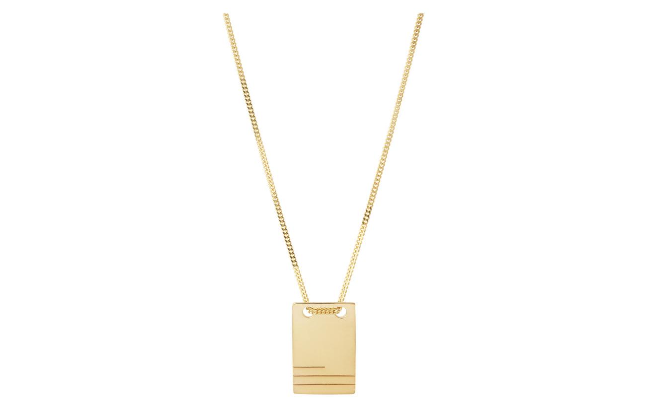 Maria Black Roben Necklace - GOLD HP