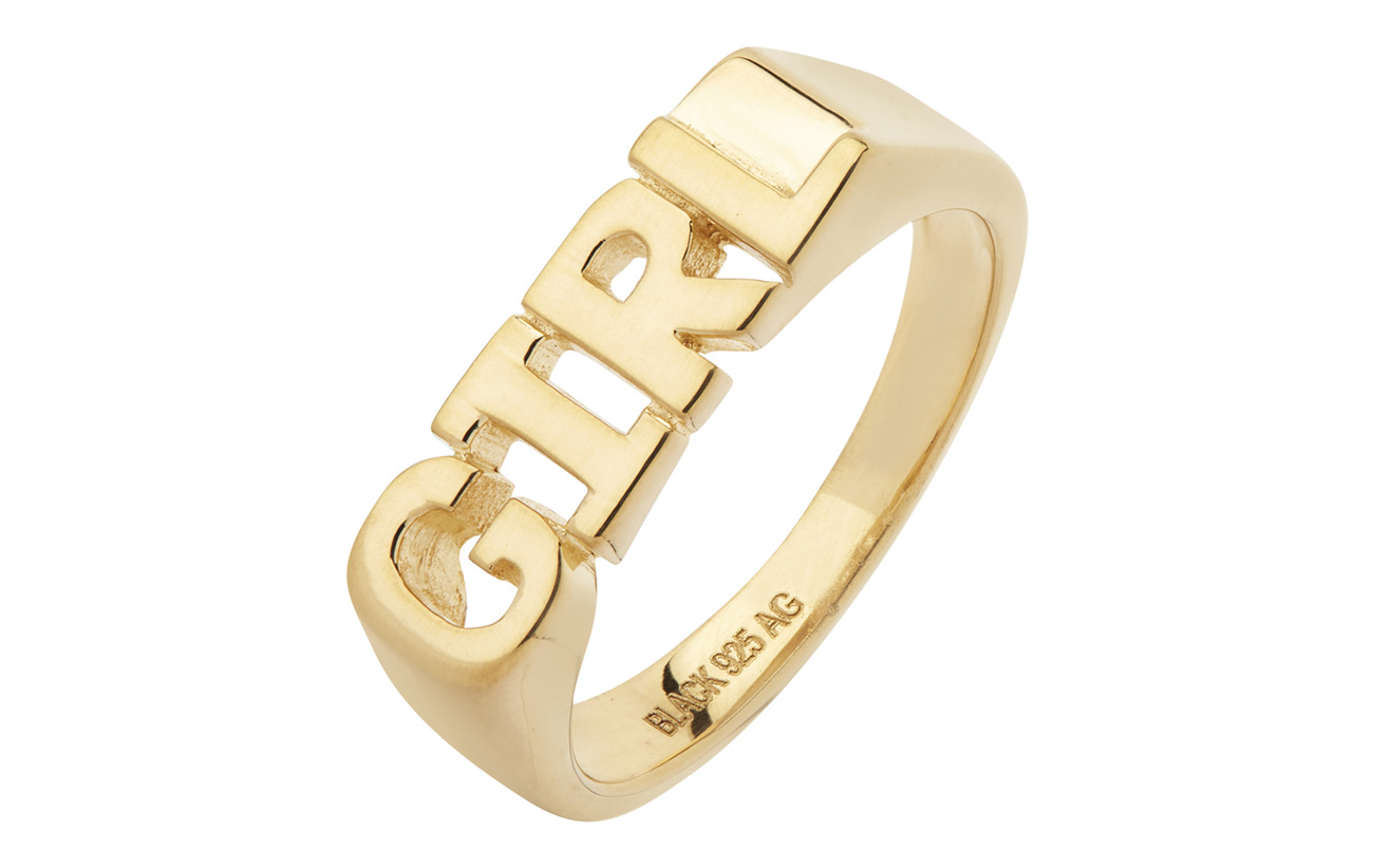 Maria Black Girl Ring - GOLD HP
