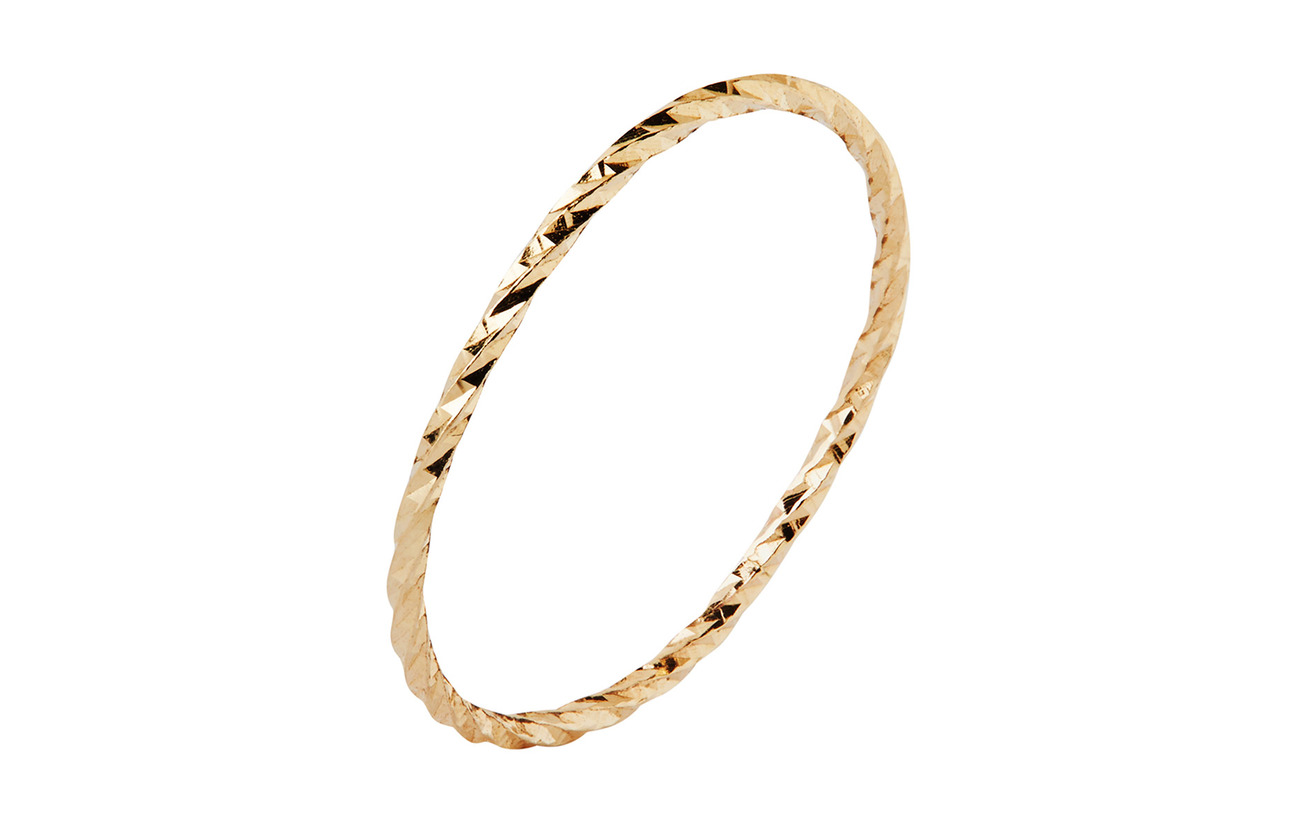 Maria Black DC Gold Ring - 14K YELLOW GOLD