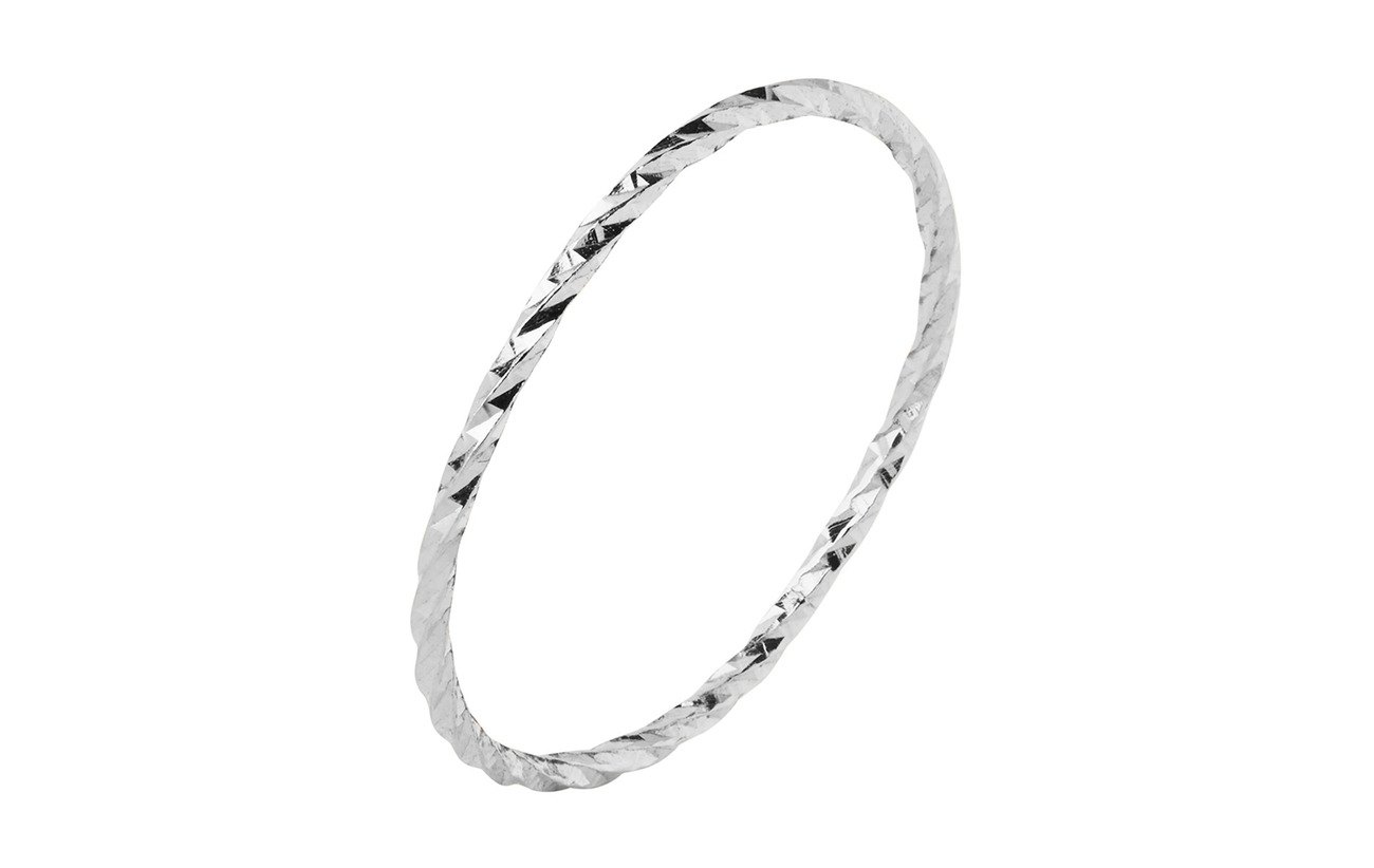 Maria Black DC White Ring - 14K WHITE GOLD / WHITE RHODIUM
