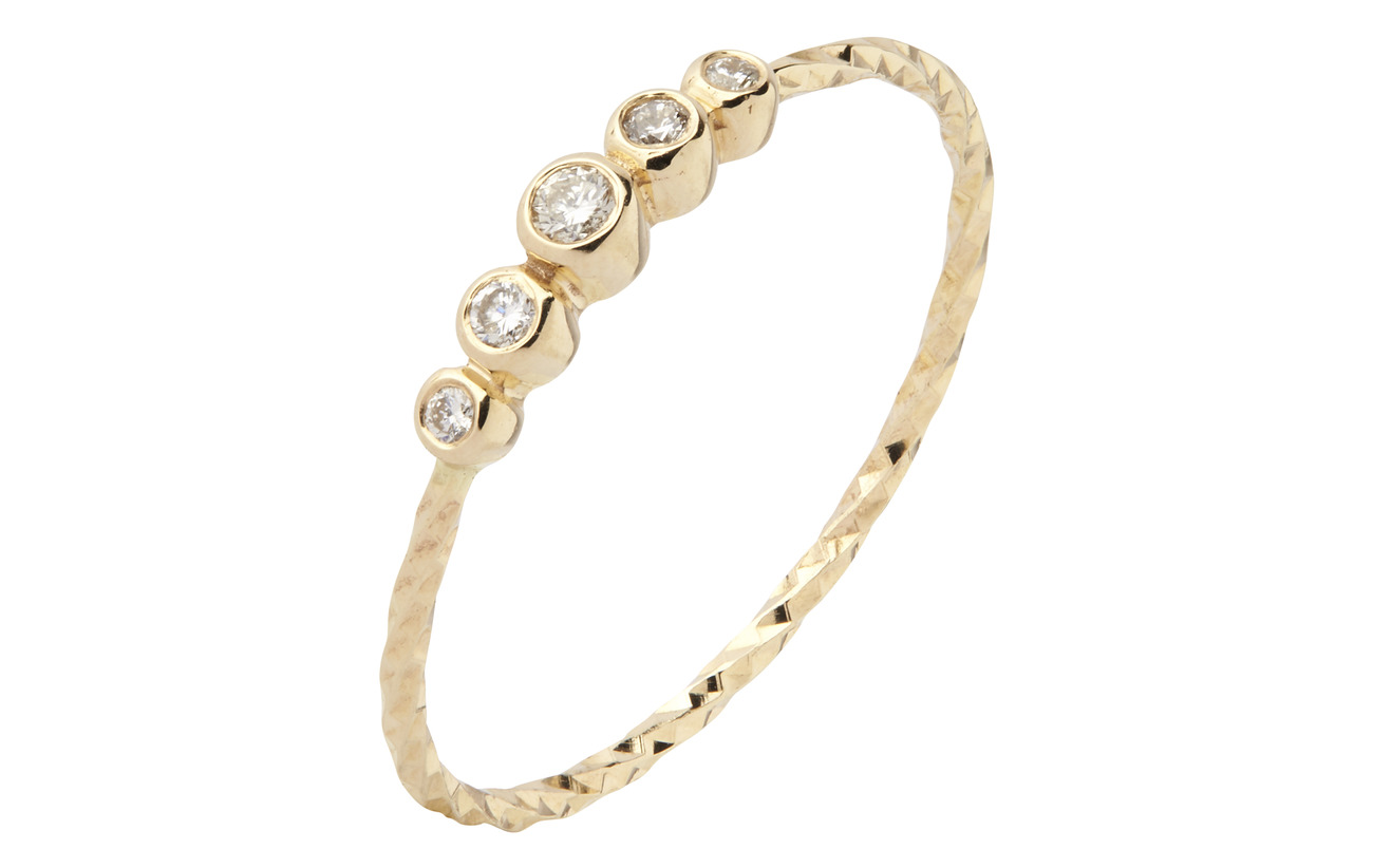 Maria Black Ally Ring - 14K YELLOW GOLD