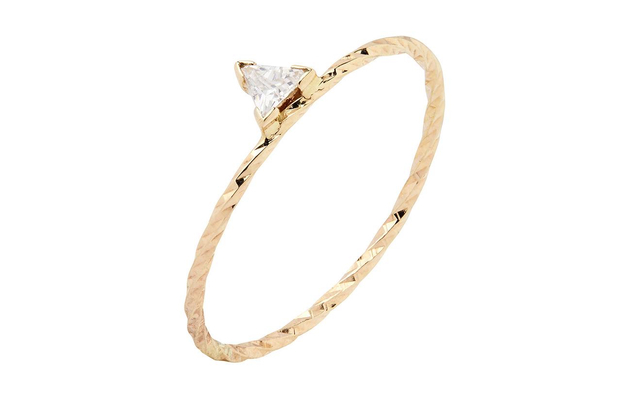 Maria Black Viper Ring - 14K YELLOW GOLD