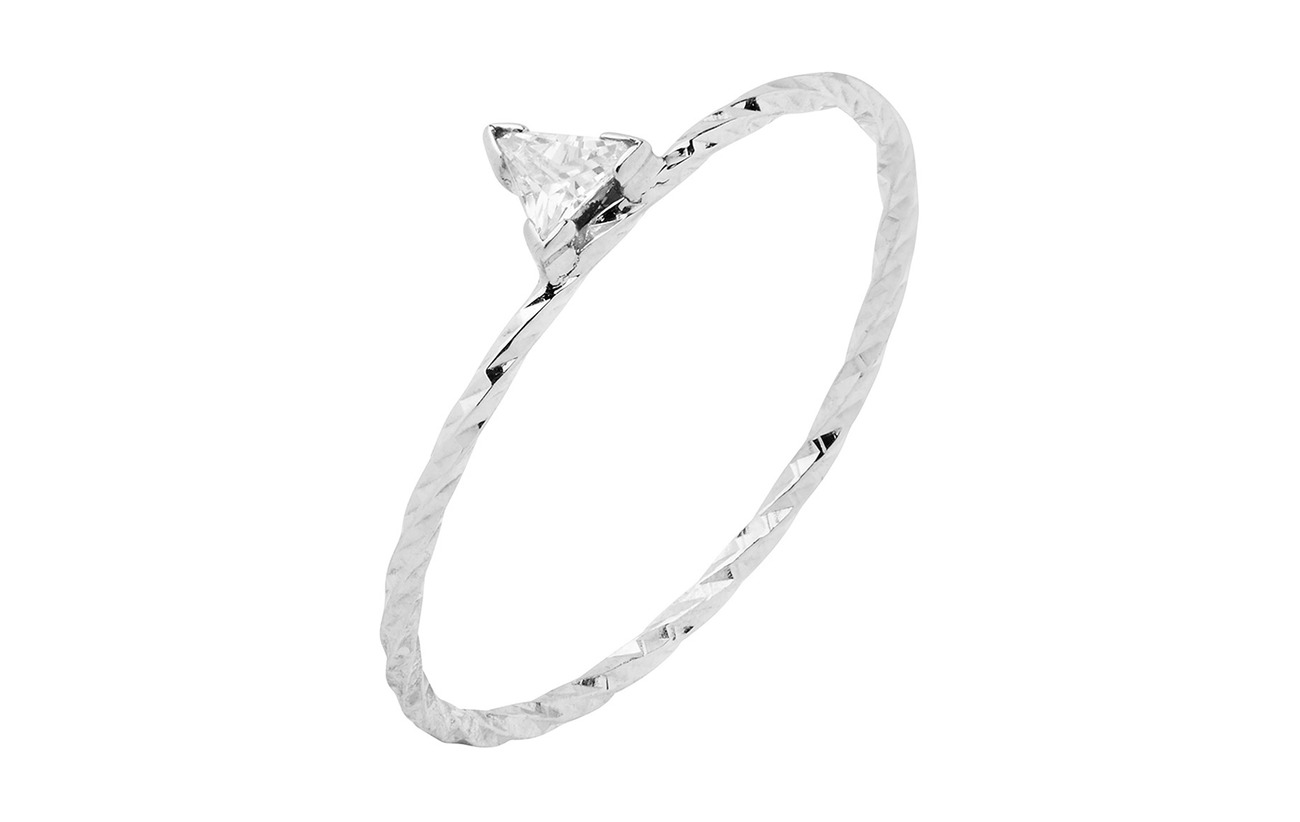 Maria Black Viper Ring - 14K WHITE GOLD