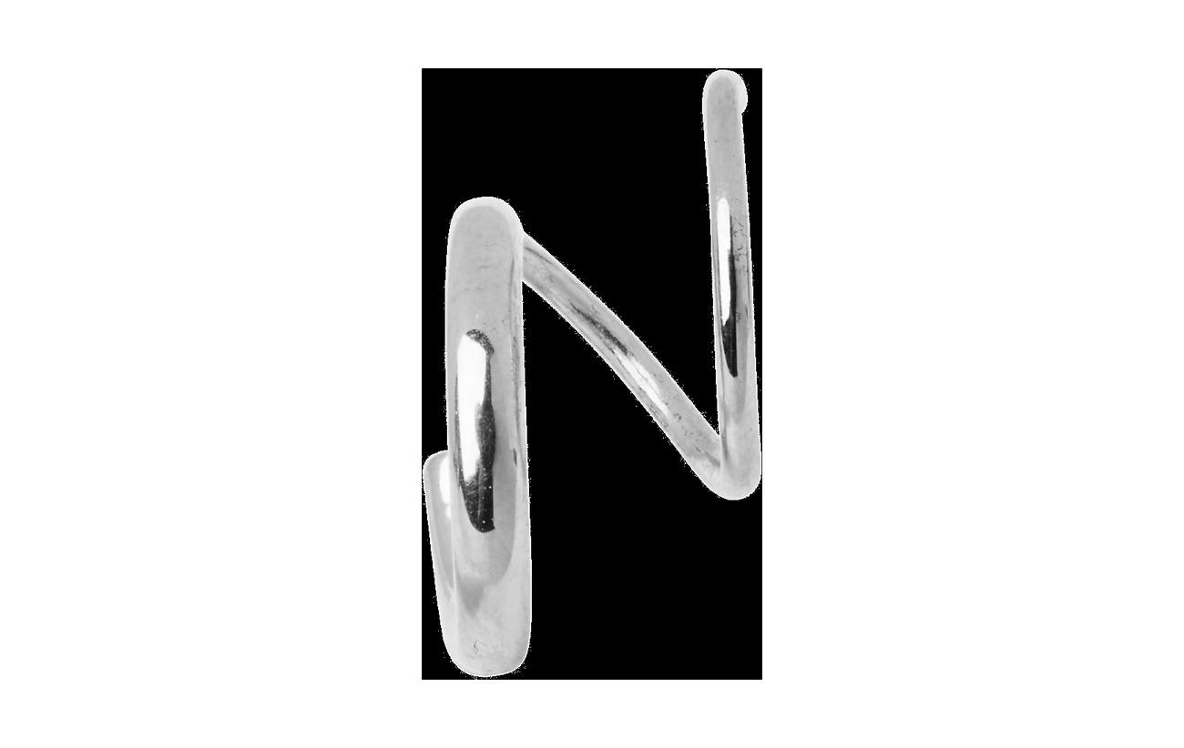 Maria Black Dogma Twirl Earring - SILVER