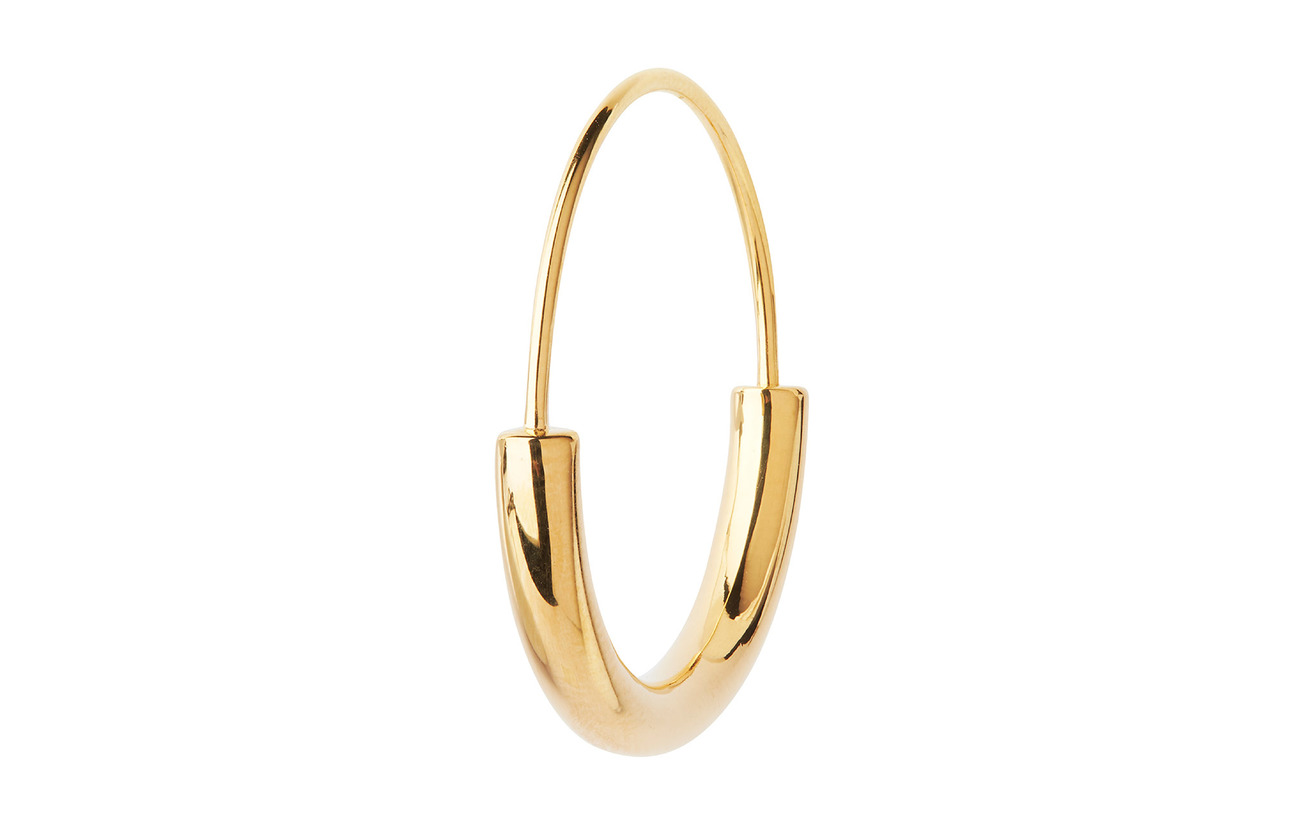 Maria Black Serendipity Hoop Earring / Small - GOLD HP