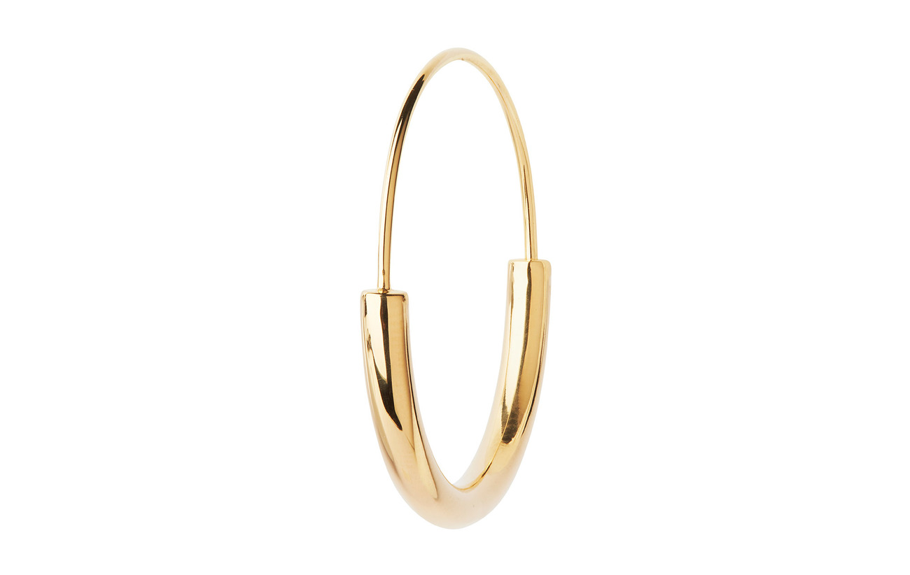 Maria Black Serendipity Hoop Earring / Medium - GOLD HP