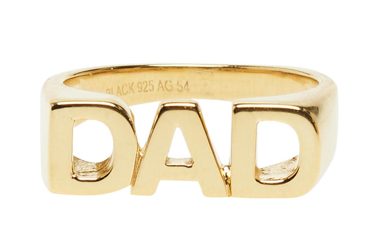 Maria Black Dad Ring - GOLD HP