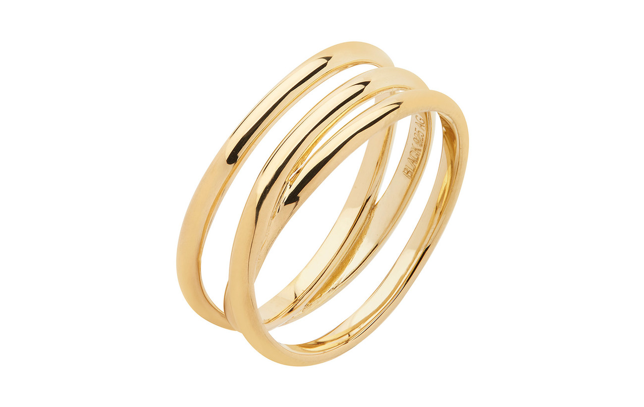 Maria Black Emilie Wrap Ring - GOLD HP