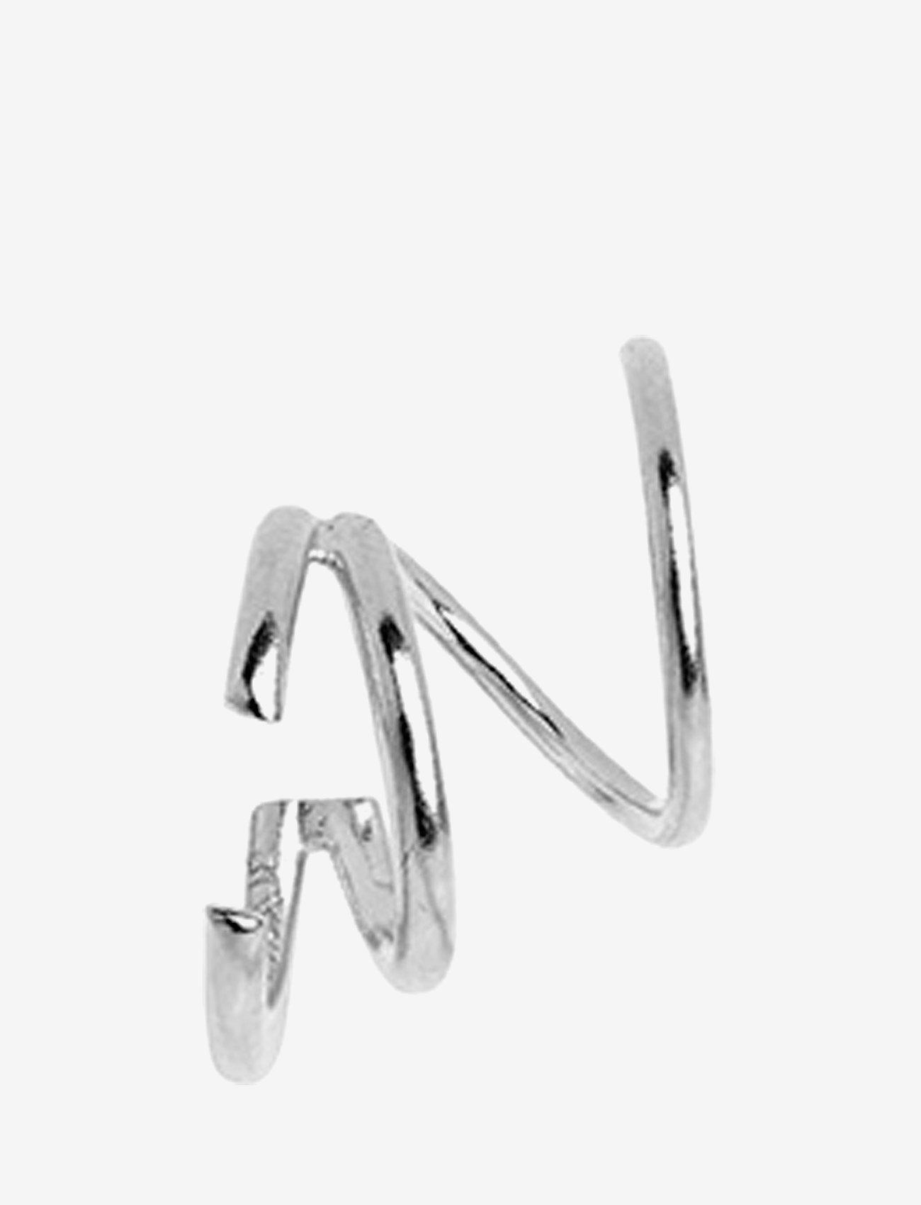 Maria Black - Bell Twirl Earring - statement earrings - silver hp - 0