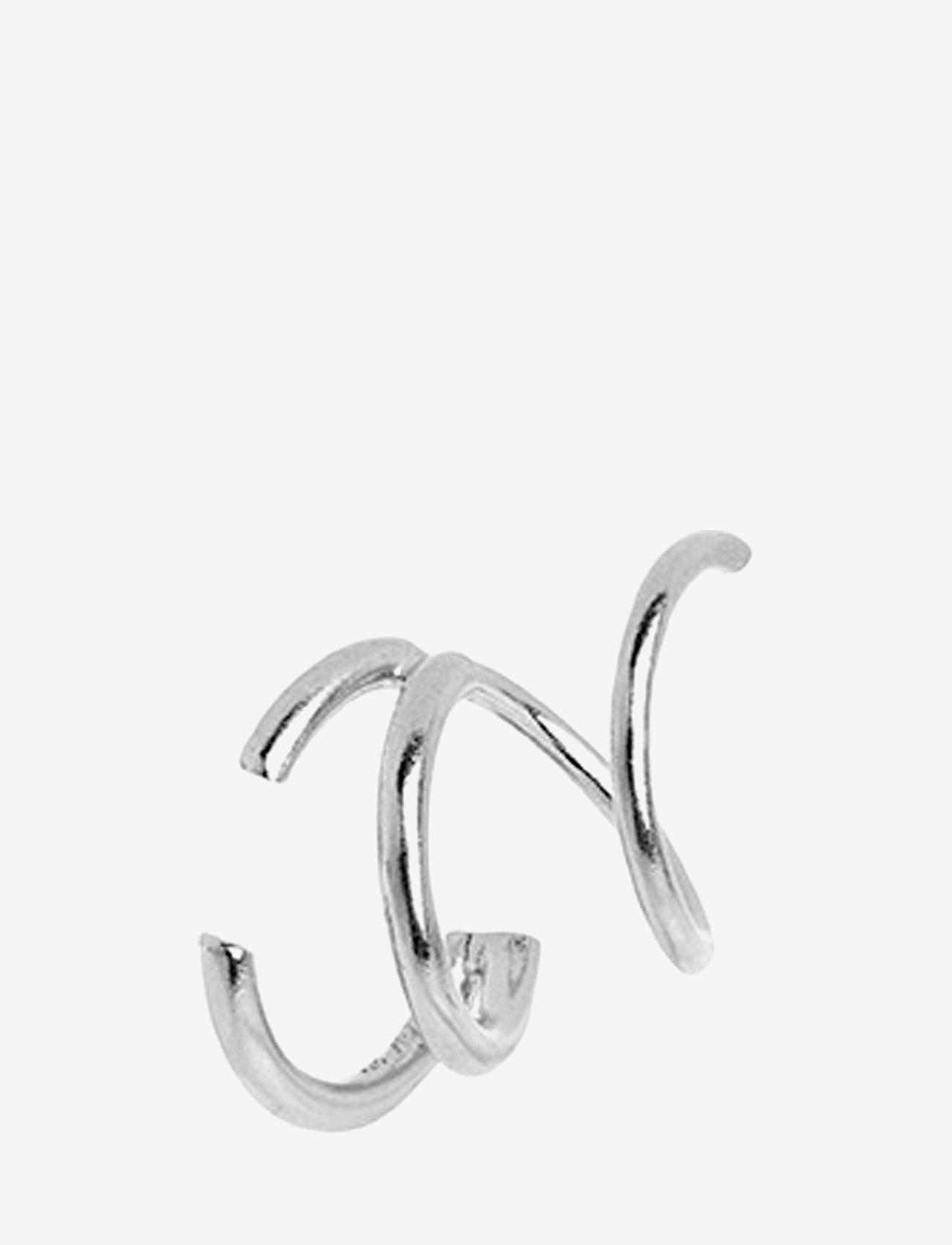 Maria Black - Bell Twirl Earring - statement earrings - silver hp - 1