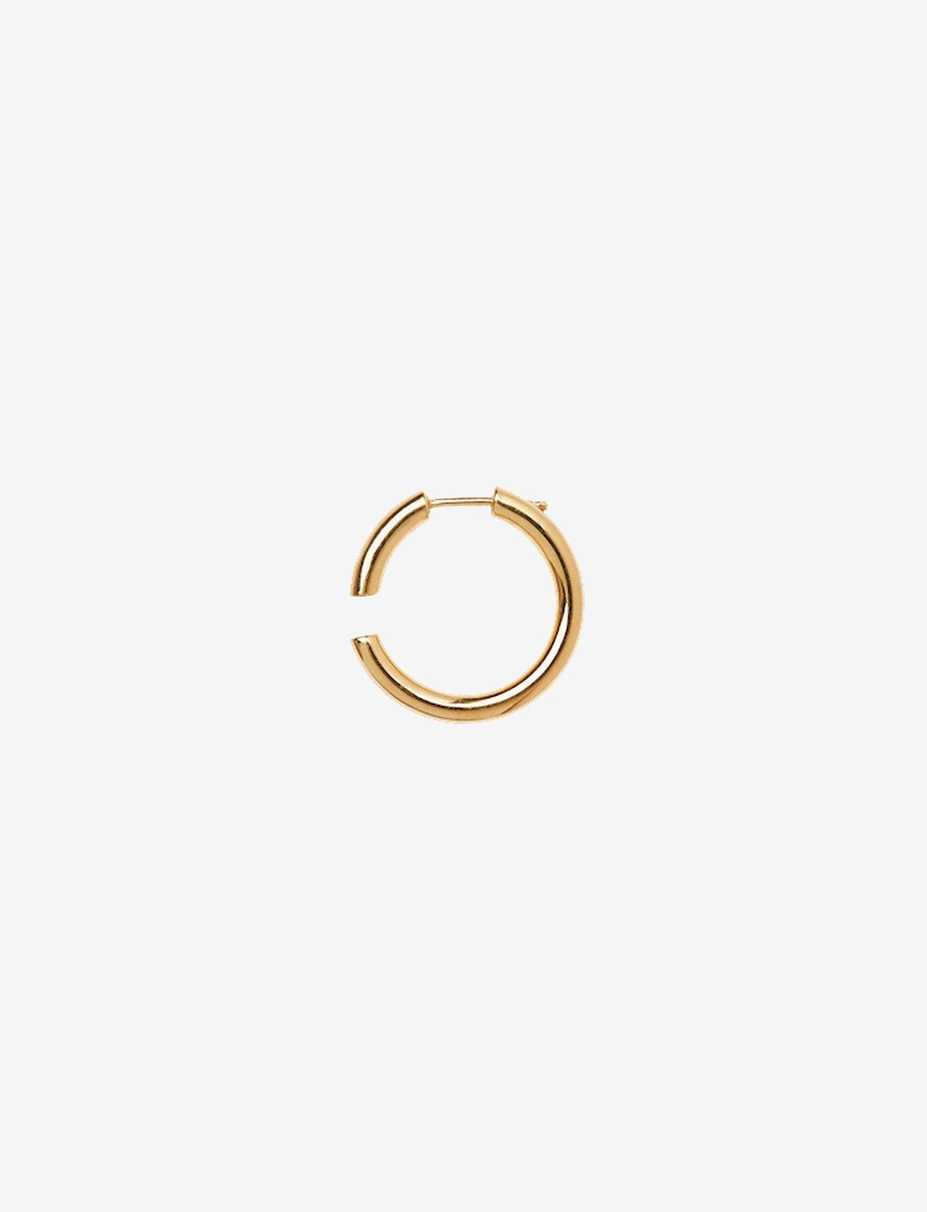 Maria Black - Disrupted 22 Earring - korvarenkaat - gold hp
