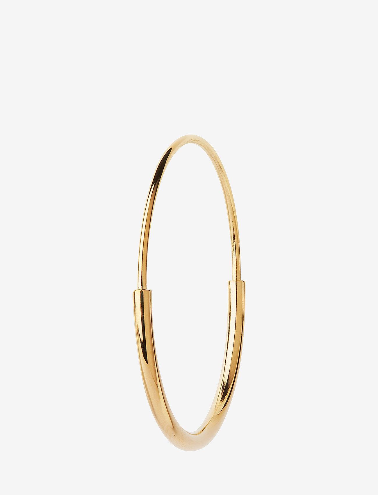 Maria Black - Delicate Hoop 26 Earring - korvarenkaat - gold hp