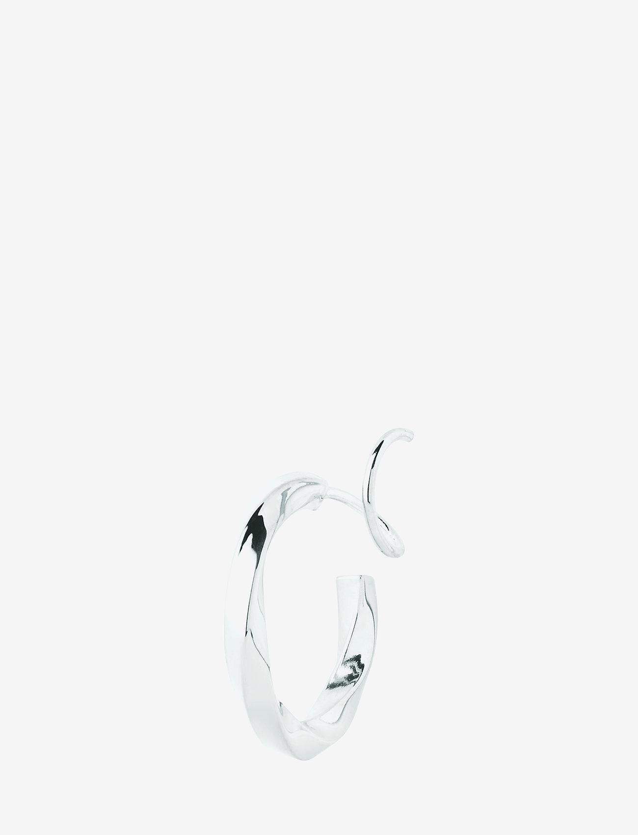 Maria Black - Marcelle Twirl Earring - statement earrings - silver hp - 0