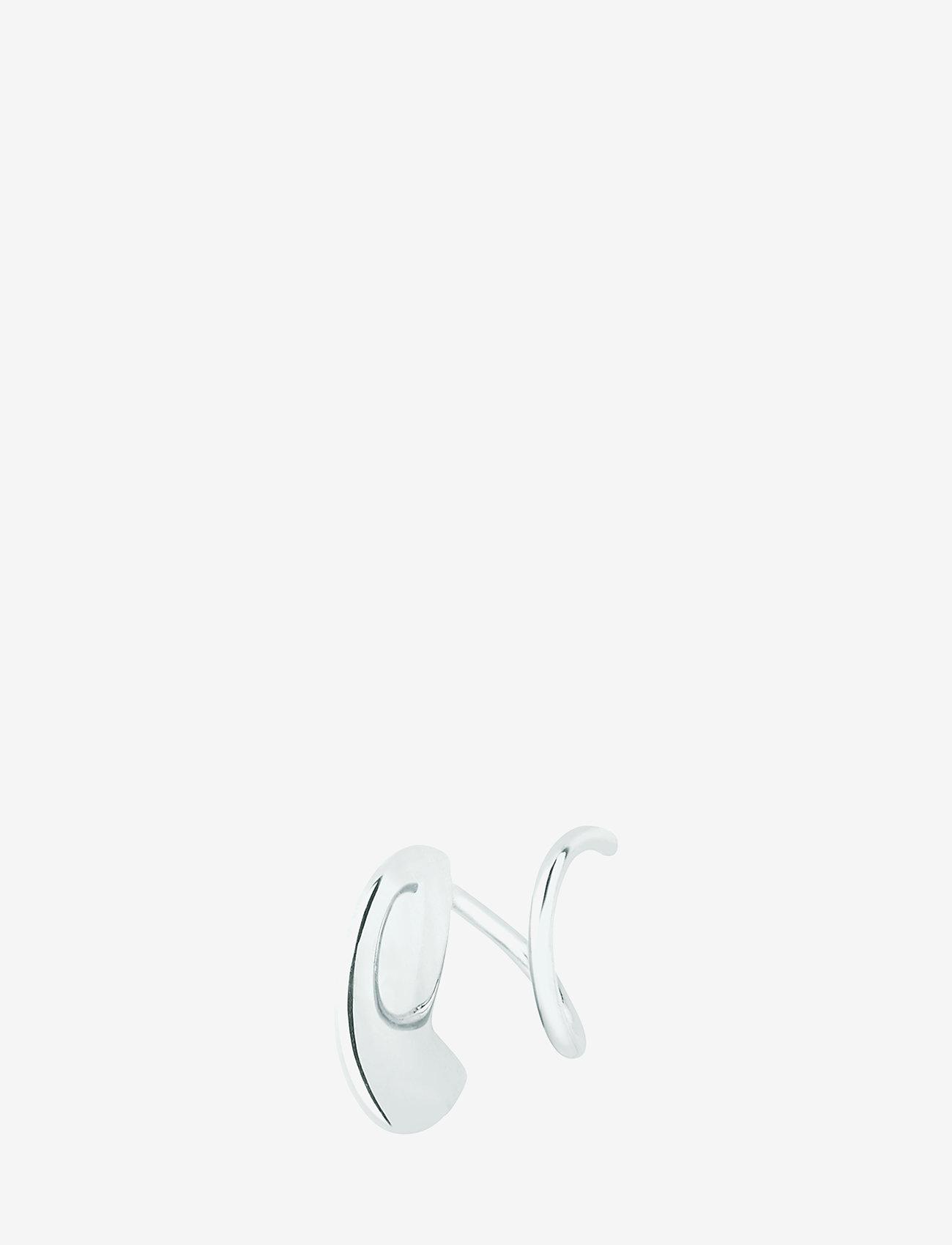 Maria Black - Mary Twirl Earring - statement earrings - silver hp - 0