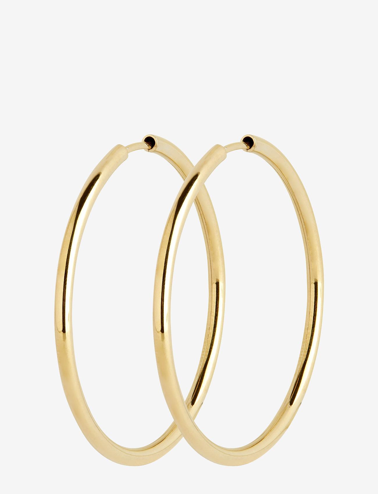 Maria Black - Sunset Hoop 35 *PAIR - korvarenkaat - gold hp