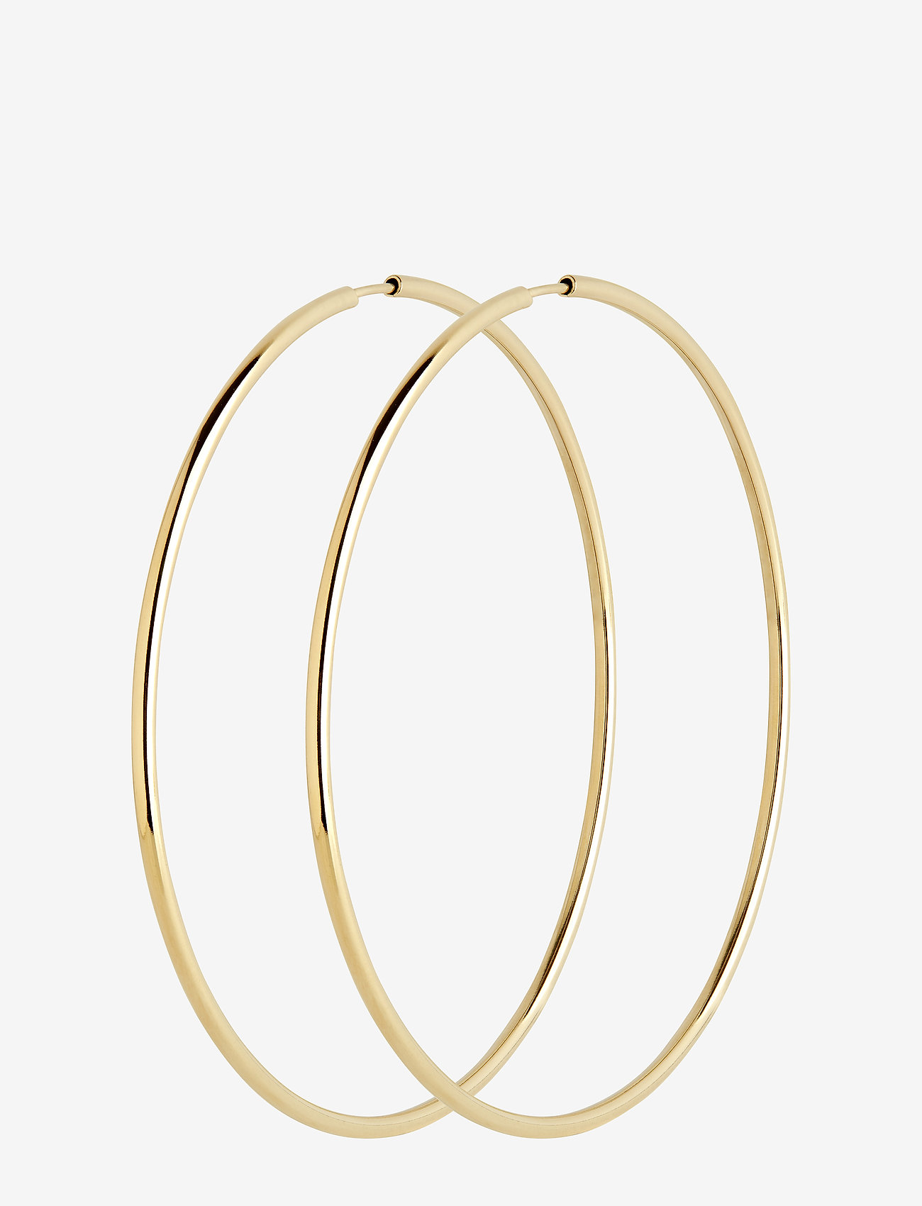 Maria Black - Sunset Hoop 70 *PAIR - korvarenkaat - gold hp