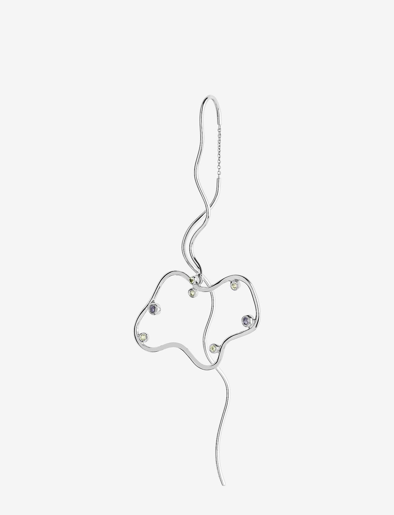 Maria Black - Nuvola Earring Silver HP - pendant earrings - silver hp - 0