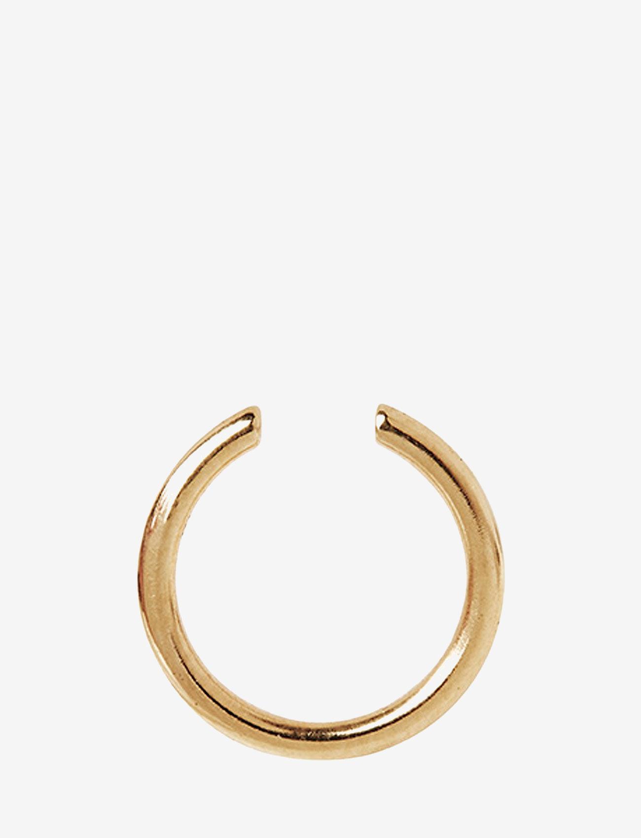 Maria Black - Twin Mini Earcuff - statement - gold hp - 0