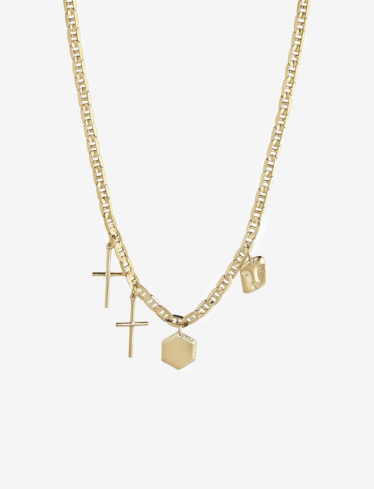 Maria Black - Stories Necklace - sirot kaulakorut - gold hp