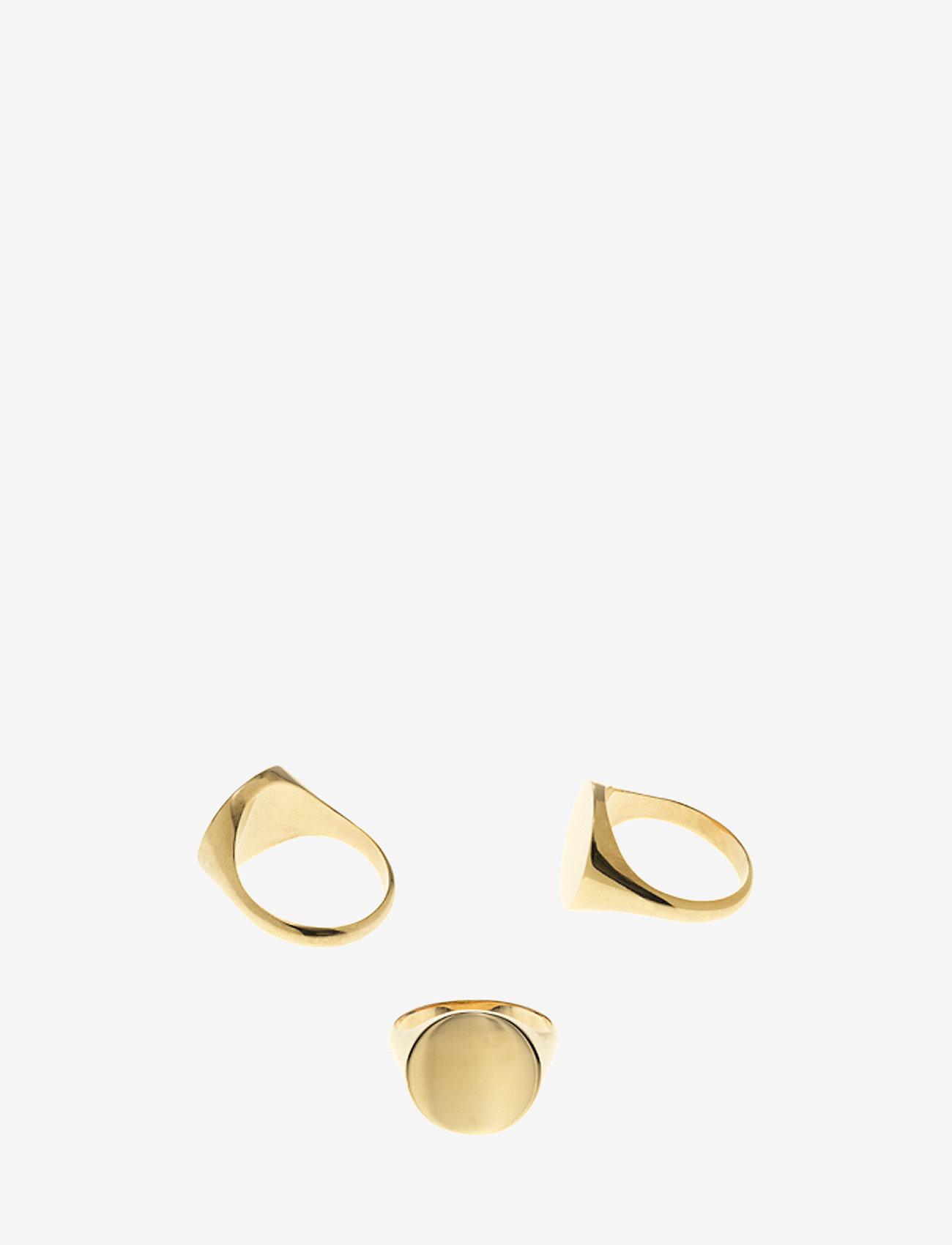 Maria Black Ready Heart Ring - Smycken Gold Hp