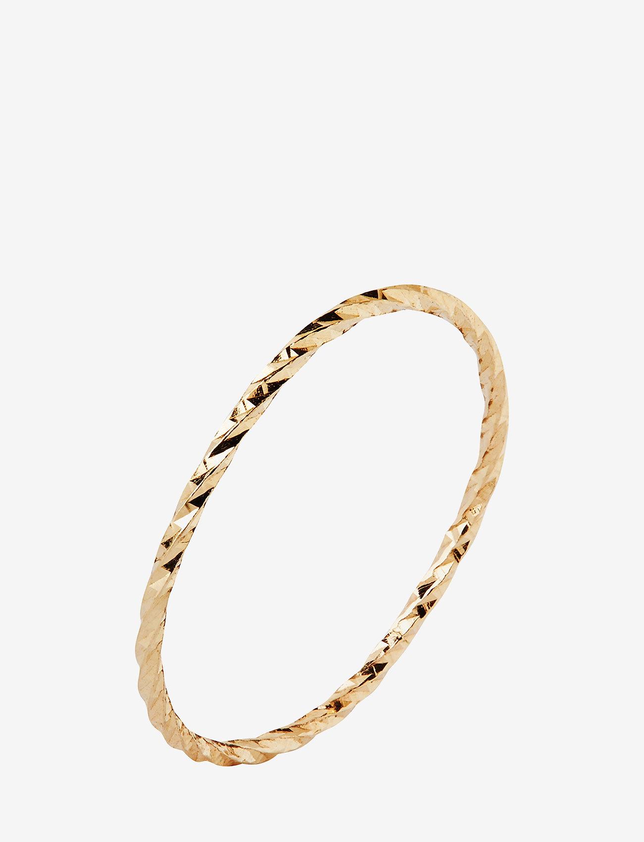 Maria Black - DC Gold Ring - sormukset - 14k yellow gold