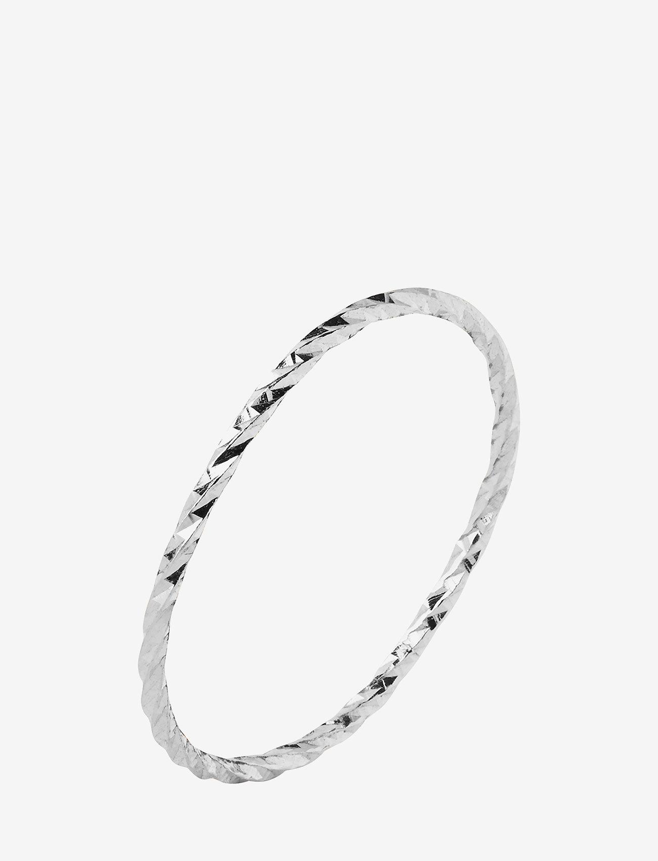 Maria Black - DC White Ring - ringer - 14k white gold / white rhodium - 0