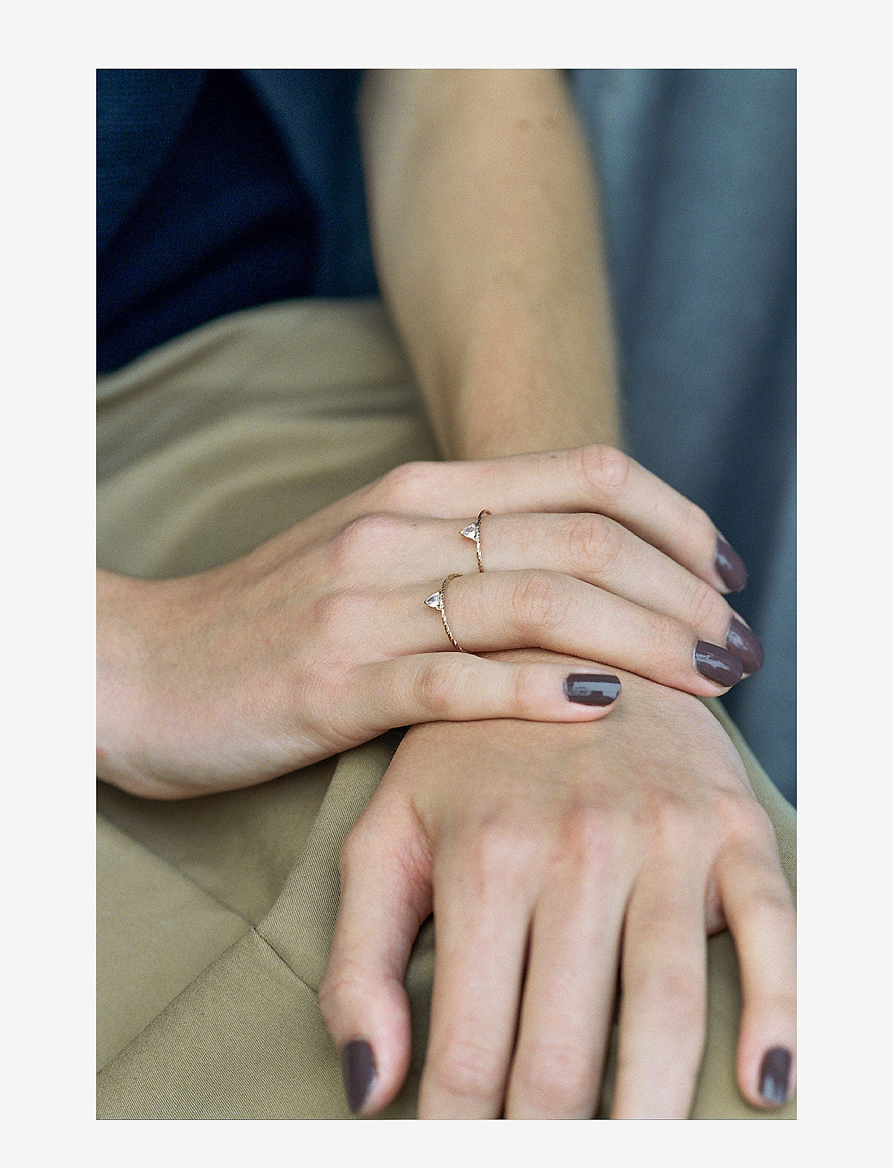 Maria Black - Viper Ring - ringer - 14k white gold - 1