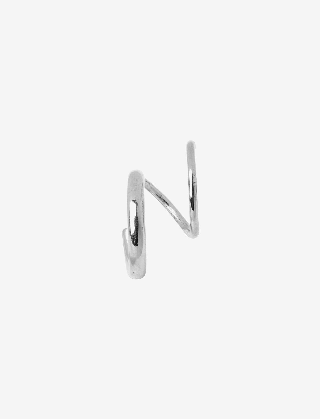 Maria Black - Dogma Twirl Earring - statement earrings - silver - 0