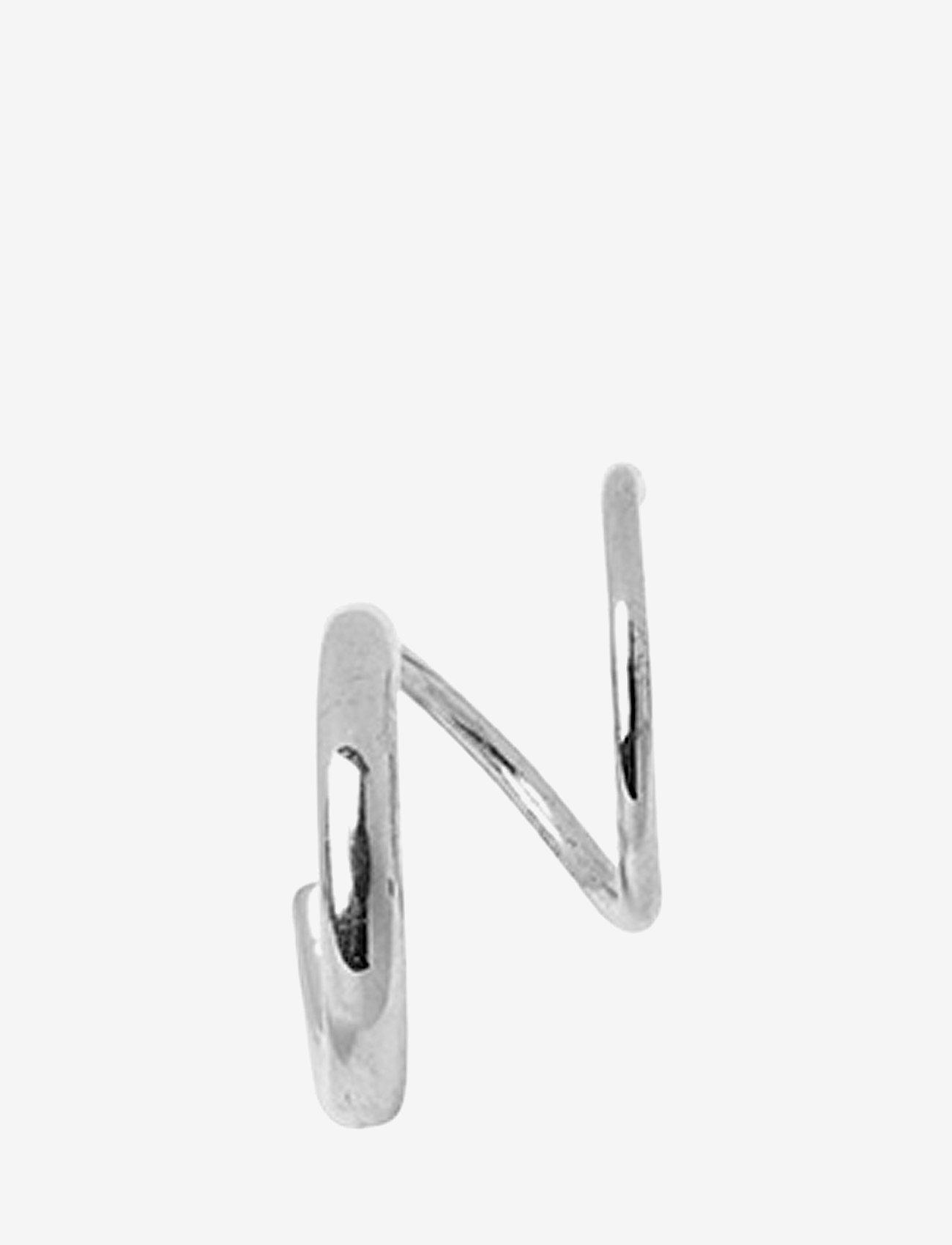 Maria Black - Dogma Twirl Earring - statement earrings - silver - 1