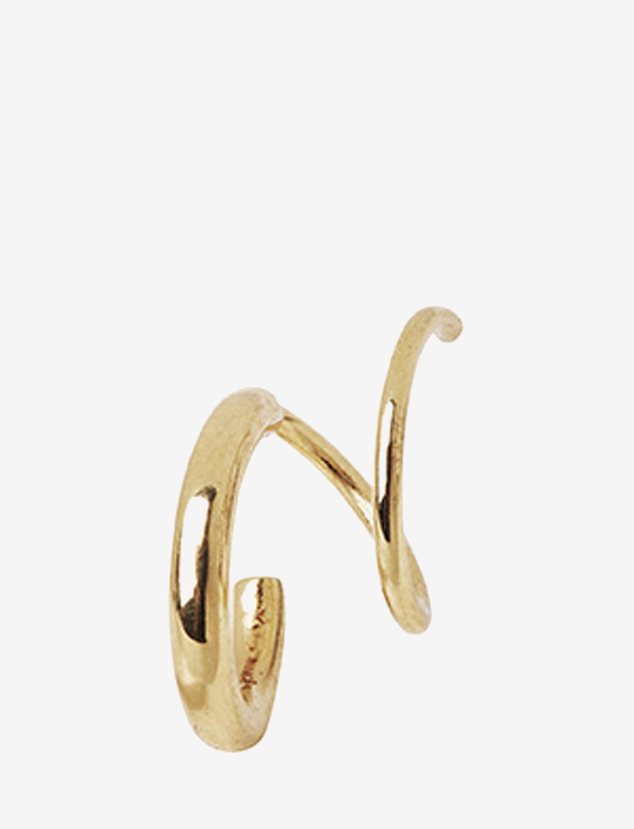 Maria Black - Dogma Twirl Earring - statement earrings - gold hp - 0